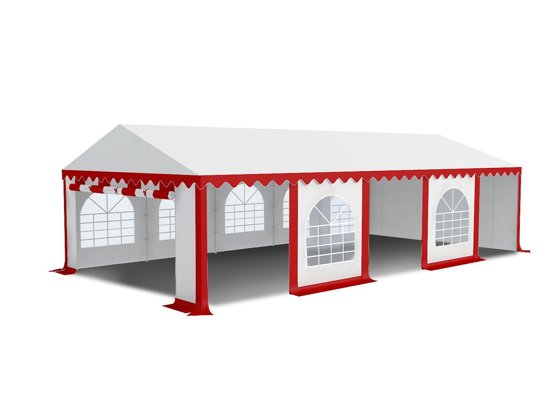 Partyzelt 4x6m Pavillon Zelt Gartenzelt 500g Pvc